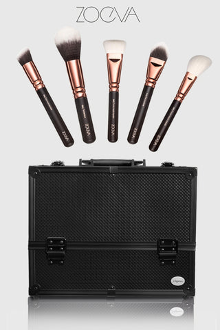 zoeva makeup brushes & joligarce makeup case