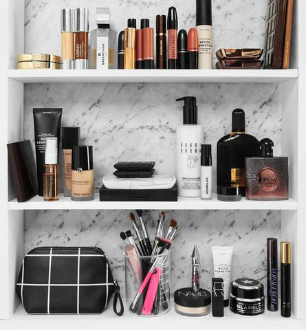 Makeup Shelves