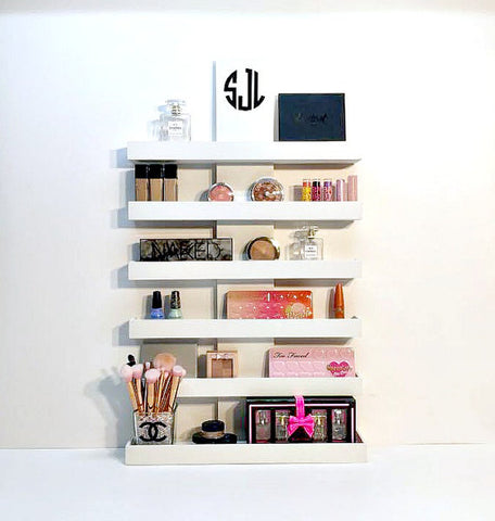 45 Brilliant Makeup Organizer & Storage Ideas for Girls