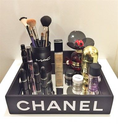 Chanel Makeup Tray