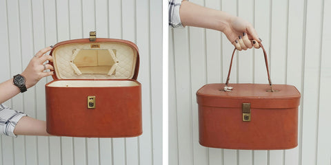 Brown Small Makeup Case
