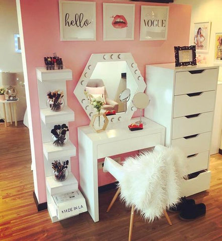 . Bedroom Vanity Table With Drawers   home decor photos gallery