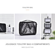 Joligrace Toiletry Bag 4 Compartments - Joligrace