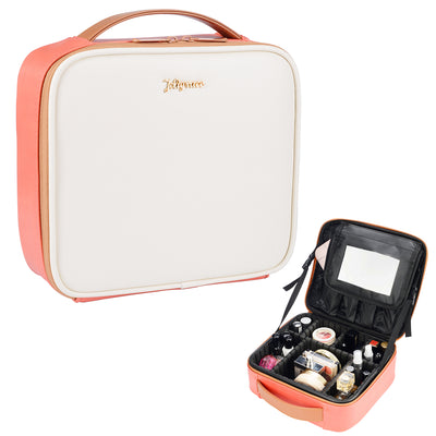 Stagiant  Coral Makeup Bag - Joligrace