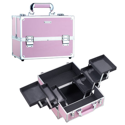 Frenessa Pink Makeup Case - Joligrace