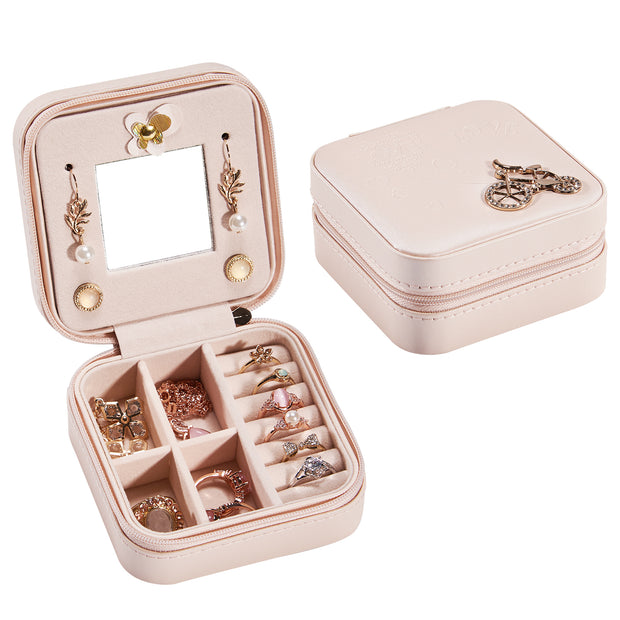 Hododou Pink Bicycle Jewelry Box