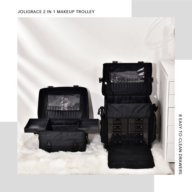 Joligrace 2 in 1 Makeup Trolley - Joligrace