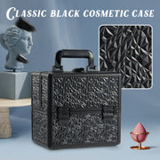 Stagiant Elegant Black Makeup Case