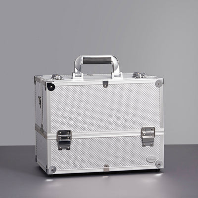 Joligrace Silver Diamond Makeup Case - Joligrace
