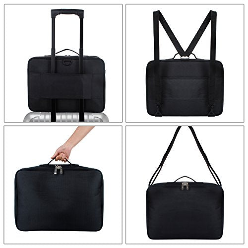 Joligrace Black Makeup Bag
