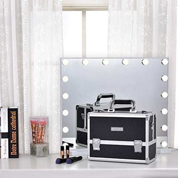 Frenessa Black Makeup Case - Joligrace