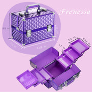 Frenessa Purple Makeup Case