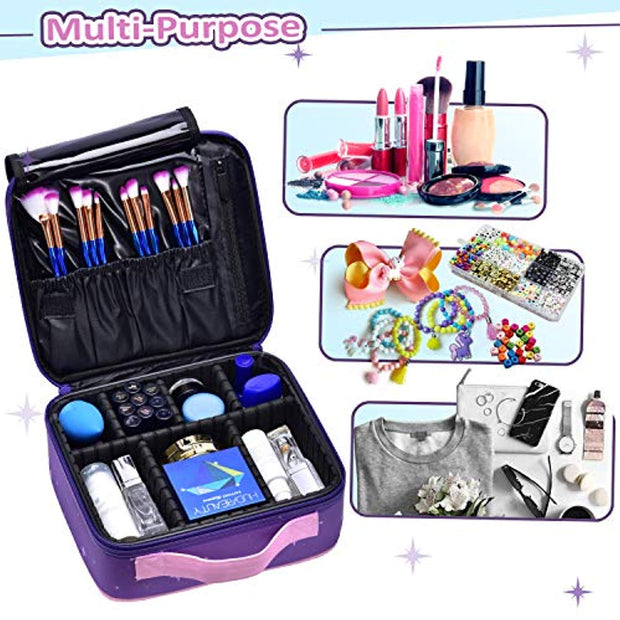 Joligrace Purple Unicorn Makeup Bag - Joligrace