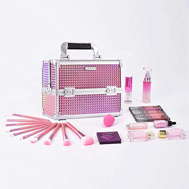 Joligrace Pink Diamond Makeup Case - Joligrace