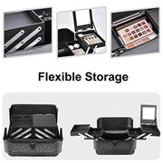 Joligrace Black Makeup Case