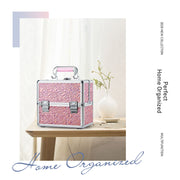 Stagiant Shining Pink Makeup Case