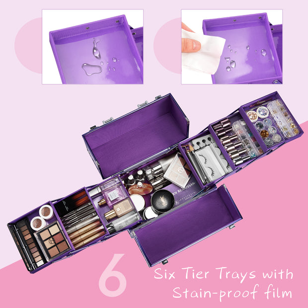 Purple Makeup Case