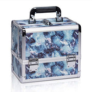 Marble Makeup Train Case Organizer Box Cosmetic Storage-Joligrace - Joligrace