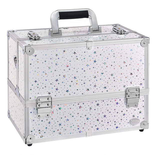 Joligrace White Star Makeup Case - Joligrace
