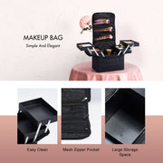 HST Nylon Black Makeup Case