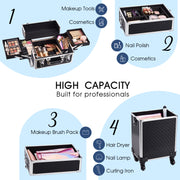 Funime 4 in 1 Makeup Trolley