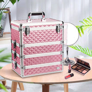 Joligrace Pink 4 in 1 Makeup Case
