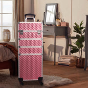 Joligrace Pink 4-in-1 Makeup Trolley