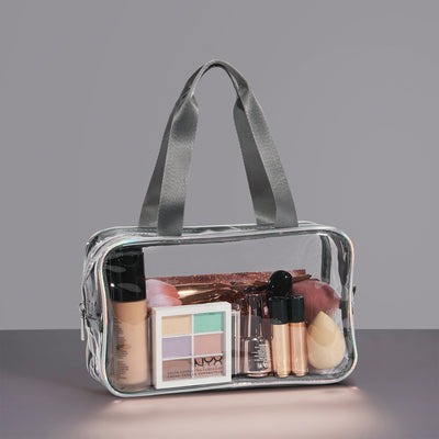 Joligrace PVC Toiletry Bag With Strap - Joligrace