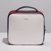 White Cosmetic Bag Travel PU Small -Joligrace - Joligrace