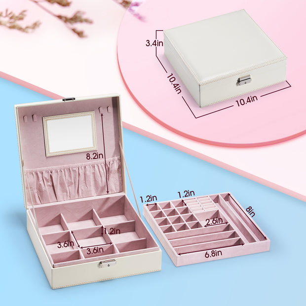 Hododou White Jewelry Box