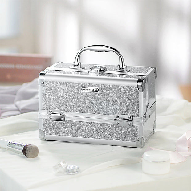 Frenessa Silver Makeup Case