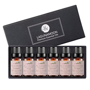 Aromatherapy Oils Top 6 Essential Oil Gift Set