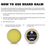 Gentlemen's Softens and Soothes Itching Beard Balm