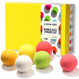 "Lagunamoon Bath Bombs ""Passion for Peace"" Gift Set with Super Large 3.8 Ounce Bath Bombs (Pack of 6)"