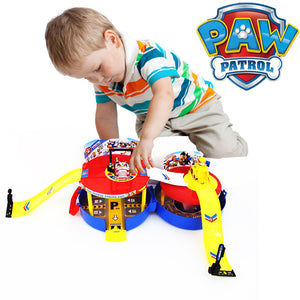Rescue Parking Circular Race Track Patroller Kids Toy