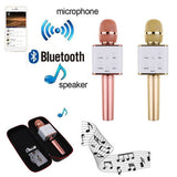 Q7 Q9  Pro Bluetooth Wireless Karaoke Microphone