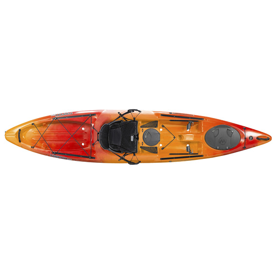 Wilderness Systems Tarpon 120 mango top view