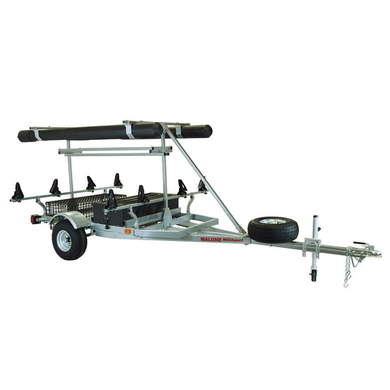 Malone MegaSport Trailer rod tube and top tier kit