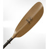 Image of Werner Skagit Hooked Paddle Brown blade view