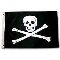 YakAttack Jolly Roger Flag