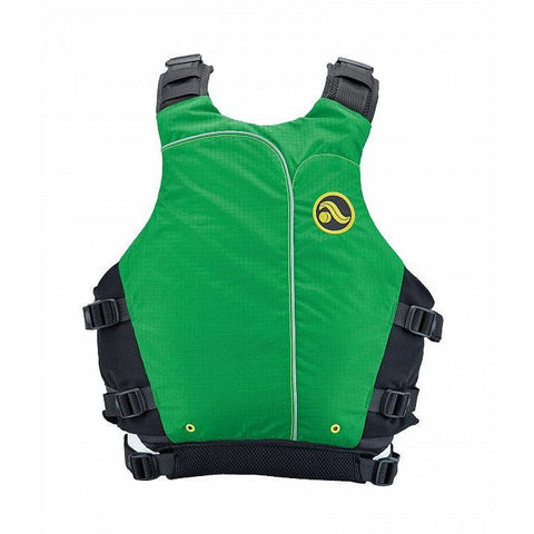 Astral Abba Womens PFD - Back (Green)