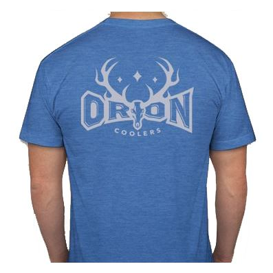 Orion Coolers SS T-Shirt - Lake Blue