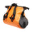 Watershed Ocoee Duffel 15L Orange Unrolled