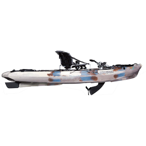 Jackson Kayak Coosa FD Mangrove side view drive deployed