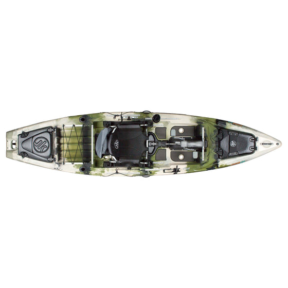 Jackson Kayak Coosa FD Forest top view
