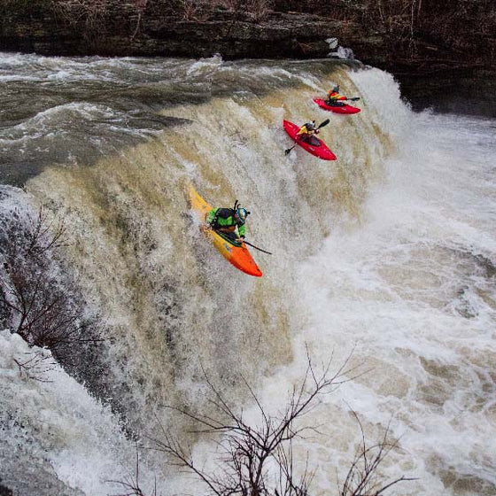 Jackson Kayak Large Antix waterfall