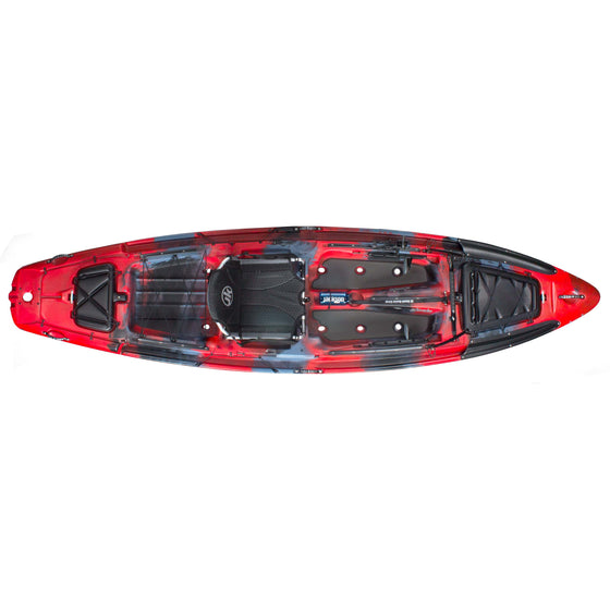 Jackson Kayak Big Rig rockfish top view
