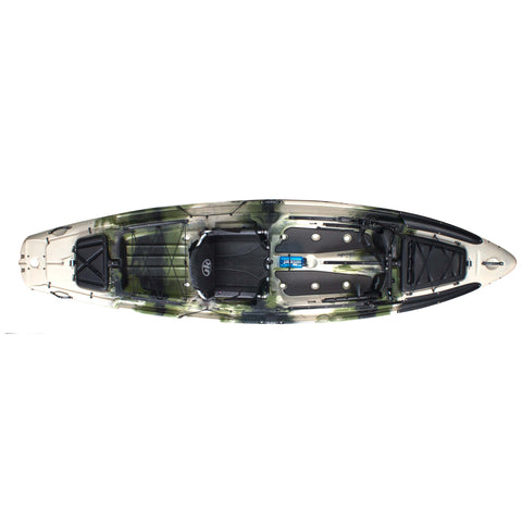 Jackson Kayak Big Rig forest  top view