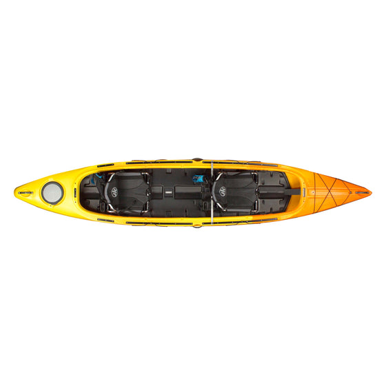 Jackson Kayak Tripper Tandem Amber top view