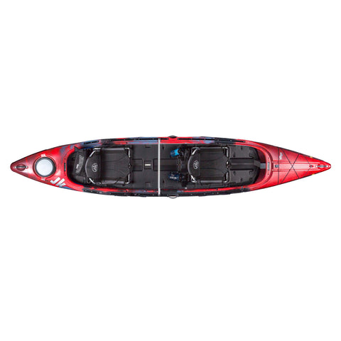 Jackson Kayak Tripper Tandem Rockfish top view